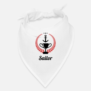 Sailing - Boat - Sailor - Freedom - Bandana