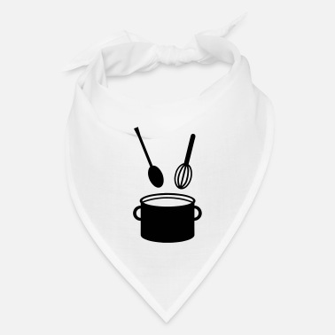 Cooking Pot - Spoon - Bandana