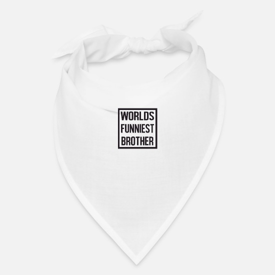 Sayings Caps - world s funniest - Bandana white