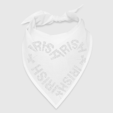 Irish Text Heart - Bandana