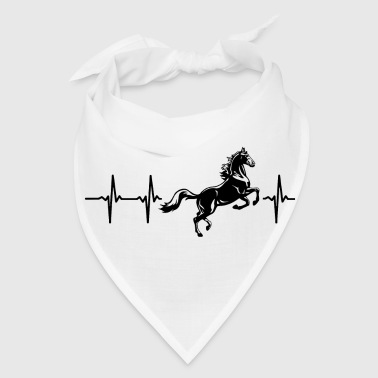 My heart beats for horses - Bandana