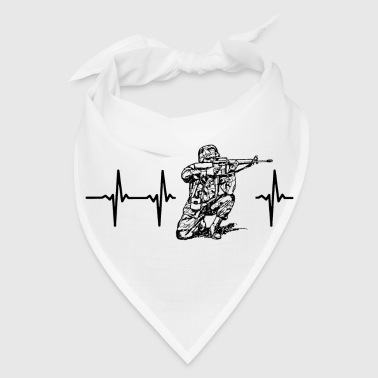 My heart beats for soldiers - Bandana