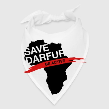 Save Darfur. Be active! - Bandana