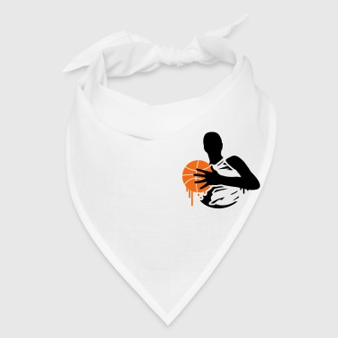 basketball player with a basketball - Bandana