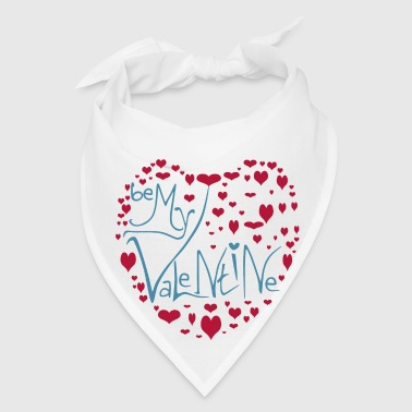 Be My Valentine - Love Heart - Bandana