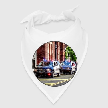 Line of Police Cars - Bandana