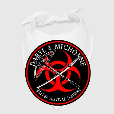 Biohazard Daryl Michonne Walker Survival Training  - Bandana