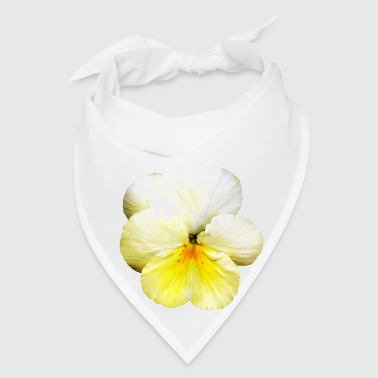 Light Yellow Pansy - Bandana