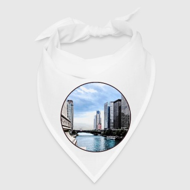 Chicago - View From Michigan Avenue Bridge - Bandana