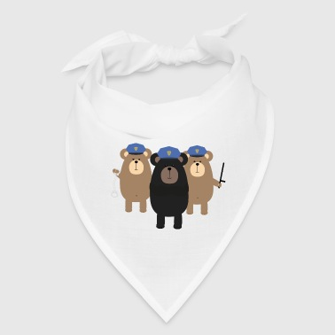 Police Officers bear squad - Bandana