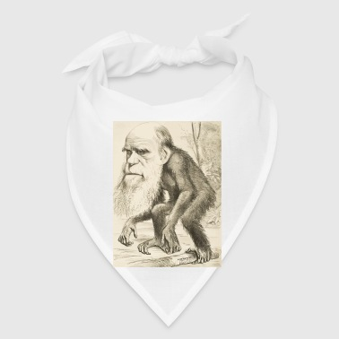 CHARLES DARWIN:  The Monkey's Uncle! - Bandana