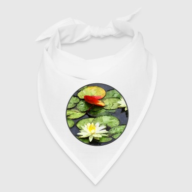 Water Lily Pond in Autumn - Bandana