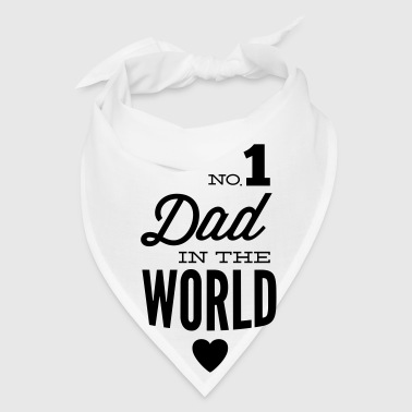 no1 dad of the world - Bandana