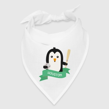 Baseball Penguin from HOUSTON Srsvp1 - Bandana