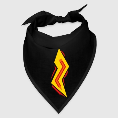 Pencil Lightning Bolt - Bandana