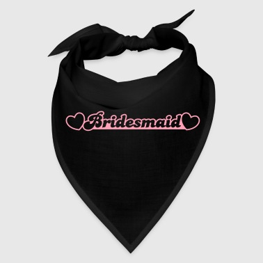 bridesmaid with little hearts - Bandana