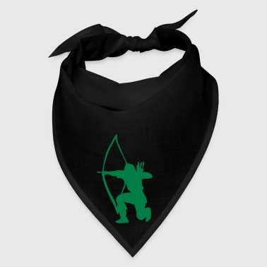 longbow english archer medieval symbol - Bandana