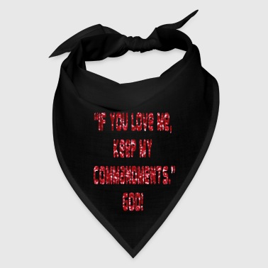 keep_my_comandments - Bandana