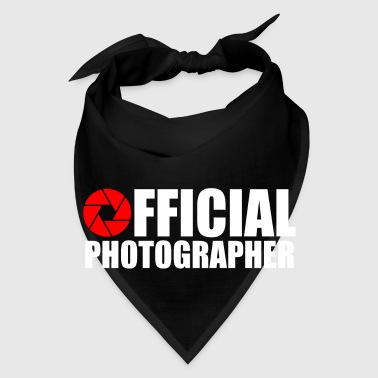 OFFICAL PHOTOGRAPHER - Bandana