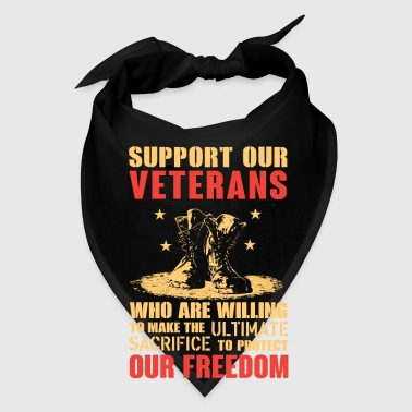Support our Veterans - Bandana