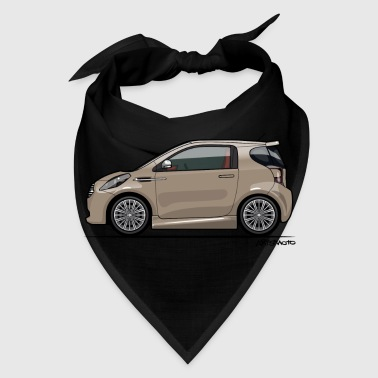 AM Cygnet Blonde Metallic Micro Car - Bandana