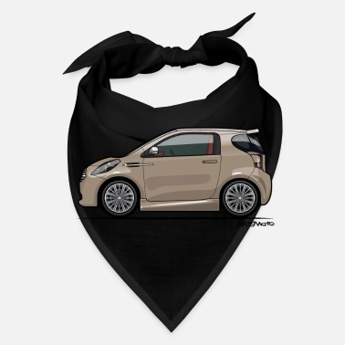 Martin AM Cygnet Blonde Metallic Micro Car - Bandana
