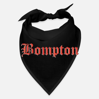 Westside Bompton red - Bandana
