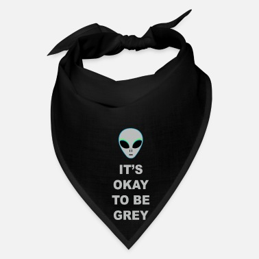 Ufo It's okay to be grey 2 - Bandana