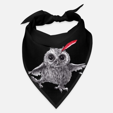 Pen Chief Red - Happy Owl - Bandana