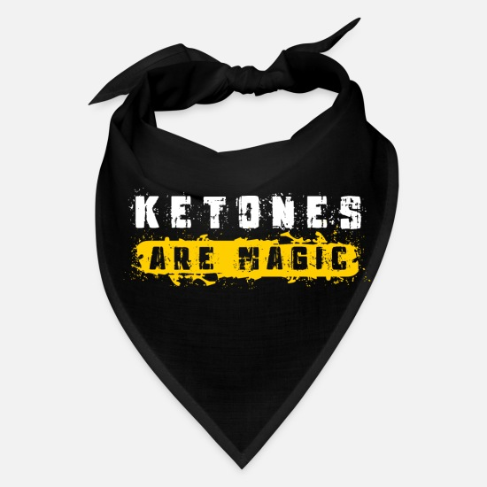 Avocado Caps - Keto weight loss gym gift ketones magic ketosis - Bandana black