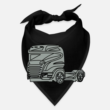 Vehicle truck,lorry,vehicle,car - Bandana