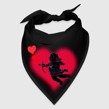 Valentine's Cupid Love Art - Bandana