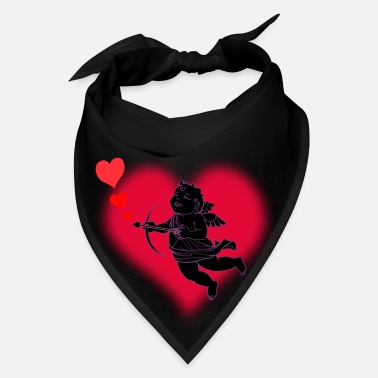 Cupid Valentine's Cupid Love Art - Bandana