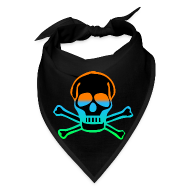 Official INTER MIAMI™ Jolly Roger Pirate Bandana   Bandana