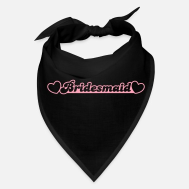 Bridesmaid bridesmaid with little hearts - Bandana