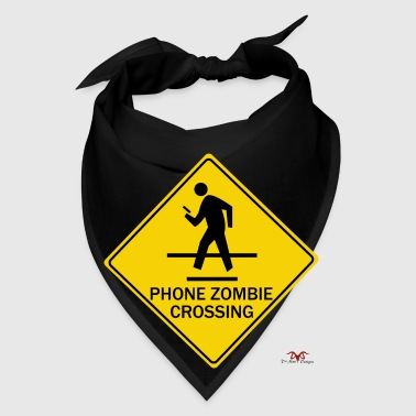 Phone Zombie Crossing - Bandana