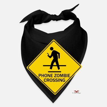 Phone Phone Zombie Crossing - Bandana