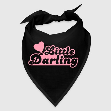 little darling with cute little love heart - Bandana