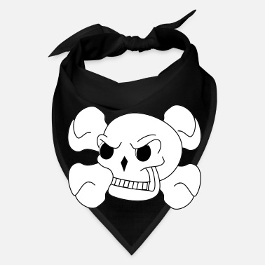 Bone Skull And Bones - Bandana