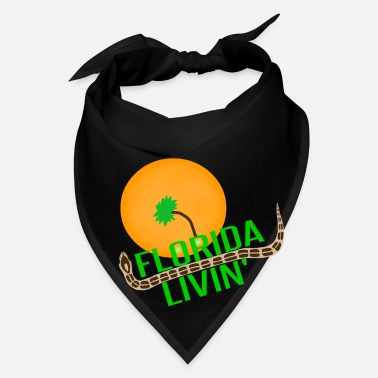 Florida Palm Tree Florida Livin' - Bandana