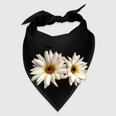 Pair Of White Daisies - Bandana