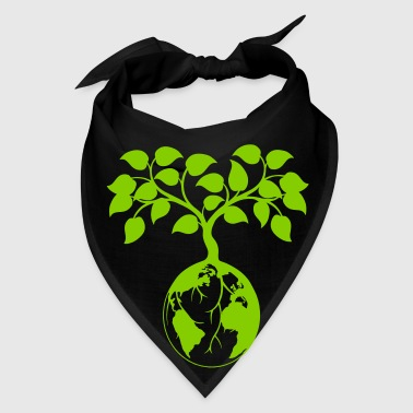 Ecology earth tree - Bandana