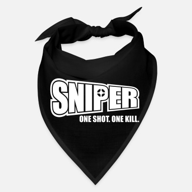 Shot Sniper One Shot One Kill - Bandana