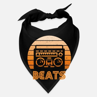 Boom Box Retro Radio Beats - Bandana