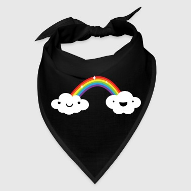 Cute Rainbow Clouds LGBT Pride - Bandana