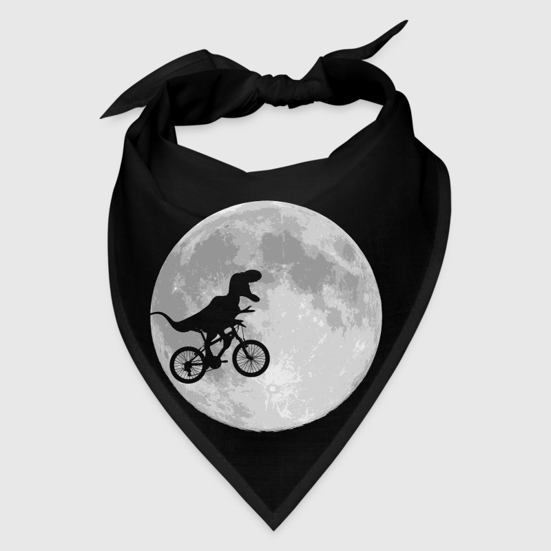 Dinosaur Bike and MOON - Bandana