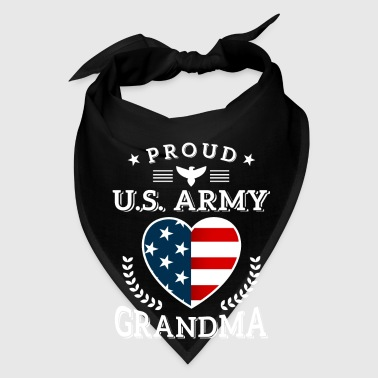 Proud U.S. Army Grandma - military family gift  - Bandana