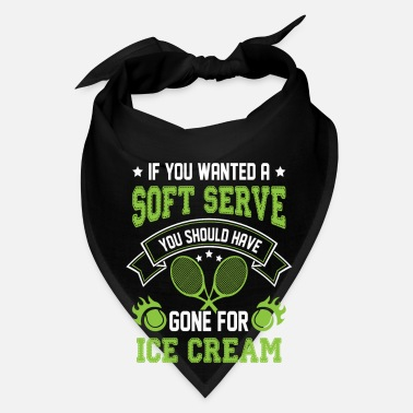 Volley Wanted a Soft Serve Gone for Ice Cream - tennis gi - Bandana