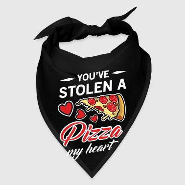 You've Stolen A Pizza My Heart Valentine's Day  - Bandana