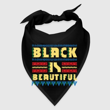 Black is Beautiful - natural african gift design - Bandana